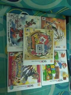 3DS GAMES for sale