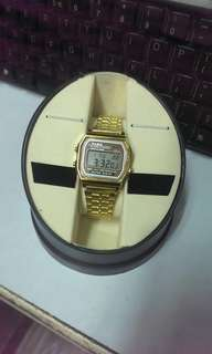 Brand New Casio Water Resistance Analog Metal Watch 全新卡西歐防水錶
