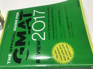 GMAT OFFICIAL GUIDE OG2017 like new no markings