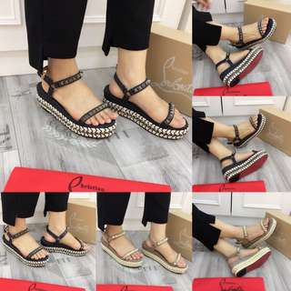 C. Louboutin Wedges 118-9A