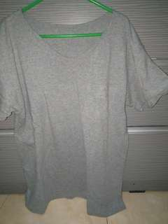 Spalding grey loose shirt allsz