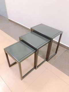 Functional Nesting Tables for Living Hall & Balcony Patio