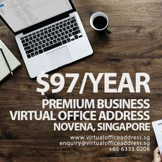 SGD97/Year Virtual Office @ Novena Singapore Mail Forwarding, Business Virtual Address Services