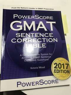 GMAT POWERSCORE SC BIBLE