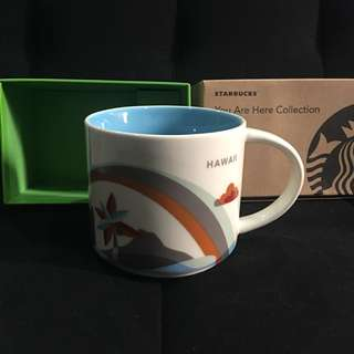 Starbucks HAWAII you are here collection