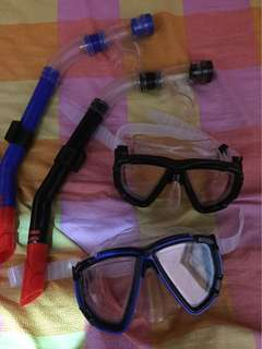Snorkling set