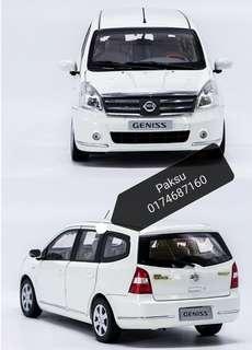 Nissan Grand Livina diecat scale 1:18 Model