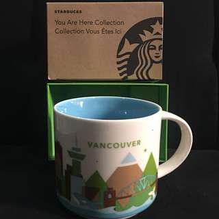 Starbucks VANCOUVER you are here collection