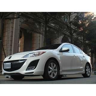 <小馬愛車> 2010 Mazda 3 2.0 白