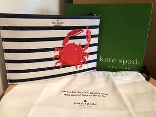 Kate Spade crap sling bag n clutch