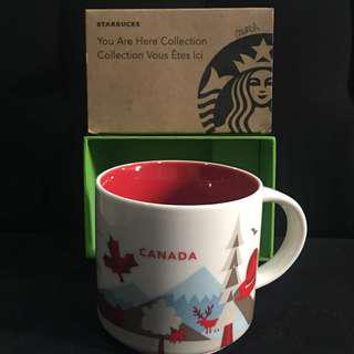 STARBUCKS CANADA you are here collection