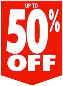 All items in 50% off extended.sale