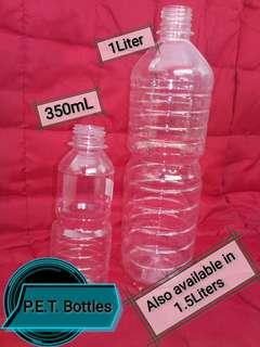 P.E.T. Bottles