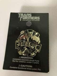 Transformers Universal studios pin