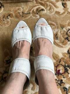Chanel正貨 羊皮高踭鞋36碼