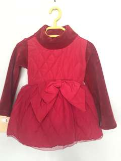 Unused winter dress for baby