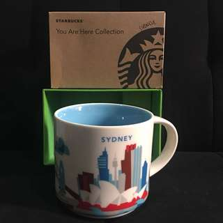 STARBUCKS SYDNEY you are here collection