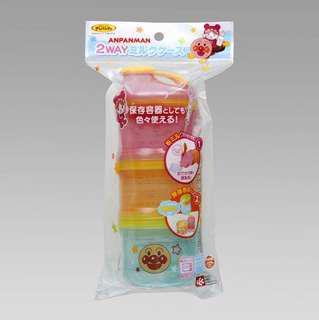 🇯🇵日本代購🇯🇵3 way麵包超人便攜外出奶粉盒