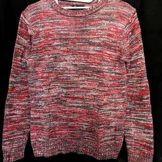 sweater with patch