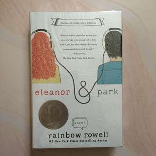 Eleanor and Park by Rainbow Rowell Hard Cover