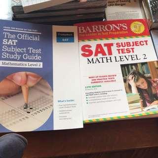 SAT Subject Test: Math Level 2 books