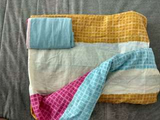 Single bed sheet &  pillow case