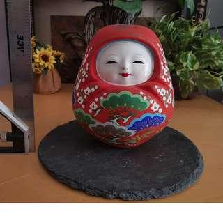 cute japanase doll display