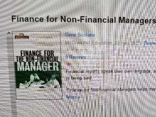 Finance Book for Non-Financial Msnagers