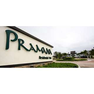 Prime lot at Pramana Residential Park in Greenfield City (rush)
