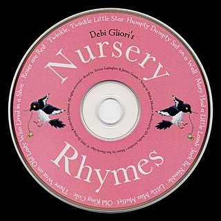 Nursery Rhymes Audio CD by Debi Gliori -- 00166