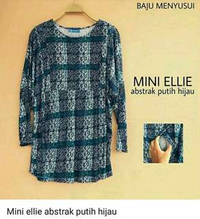 Mamigaya baju menyusui mini ellie abstrak (NEW)