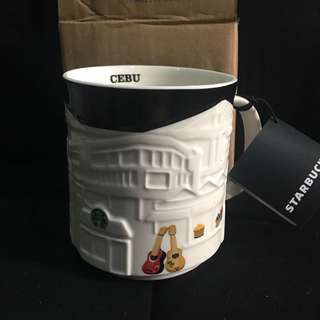 STARBUCKS CEBU relief mug