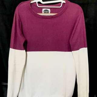 twotone sweatshirt