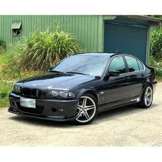 2000年出廠 BMW E46 328I 2800CC 尊爵黑