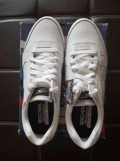 Skechers Classic White Gum Shoes