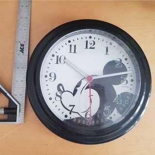 mickey mouse wall clock display