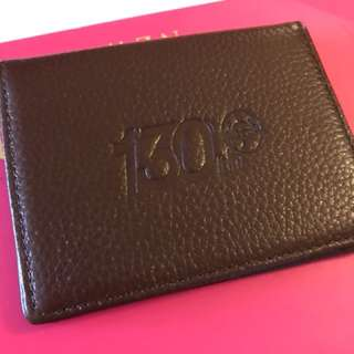 Hong Kong Jockey Club real leather card holder