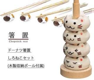 素晴らしい日本代購 貓系列-筷子架🐈🐈🐈🐈🐈
