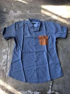 Cotton Matters Blue Shirt