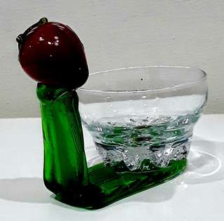 Hand Made Glass Art by Pasabahce - Strawberry
