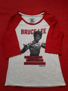 Just for Kids Bruce Lee raglan
