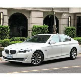 2012年出廠 BMW 528I 2.0雙渦流引擎 潔雪白