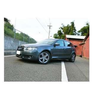 2006年   奧迪   A3   TDI   灰 ✅0頭款 ✅免保人✅低利率✅低月付 FB搜尋:阿源 嚴選二手車/中古車買賣