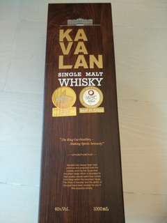 Kavalan Single Malt (1.0L)