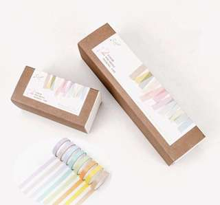 🚚 [INSTOCK]12 coloured macaroons washi tape
