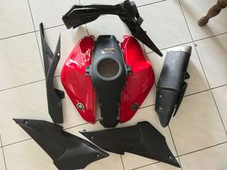 Yamaha R25 used Parts