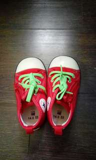 Converse Kids Baby Shoes 紅色布鞋