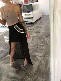 BNWT Bariano beaded skirt XS RRP $99