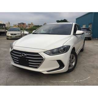 <小馬愛車> 2017 Hyundai Elantra 1.8 白