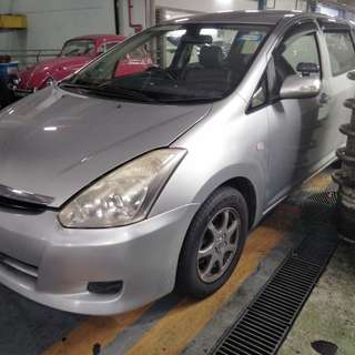 Toyota Wish rent